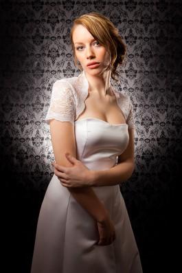 """""""Bridget"""" [C301] - white lace ($129)"""