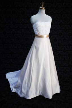 Modern Chic Wedding Dress