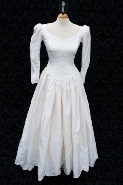 1980's Wedding Gown